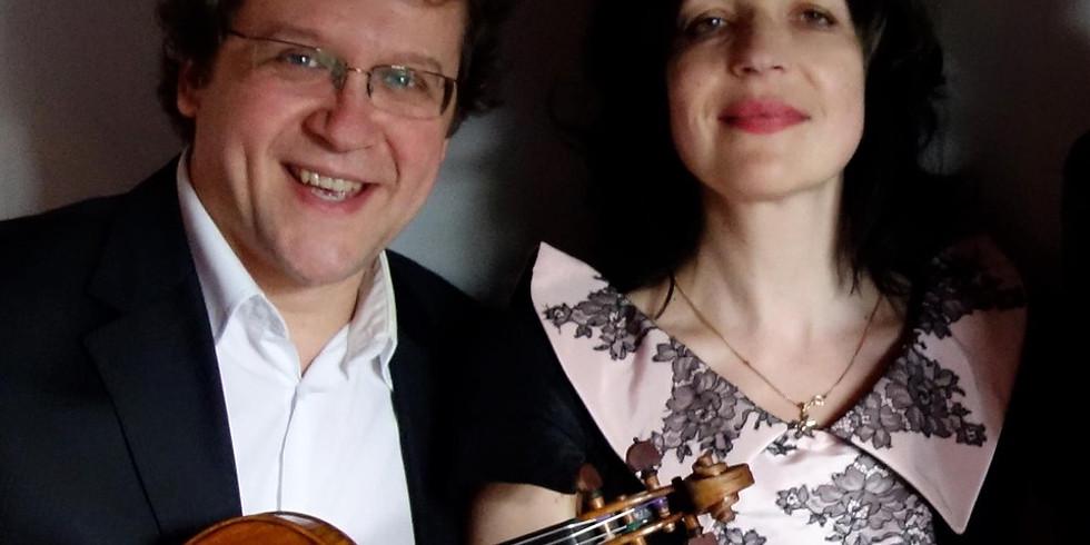 Marietta Petkova en Vesko Eschkenazy - Duo recital