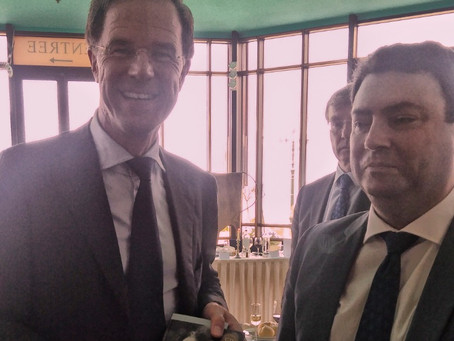 Prime Minister Mark Rutte Receives CD