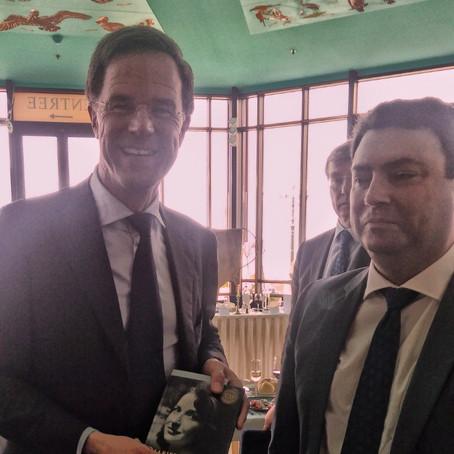 Prime Minister Mark Rutte Receives CD