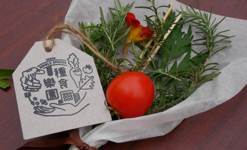 Edible herbs bouquet workshop