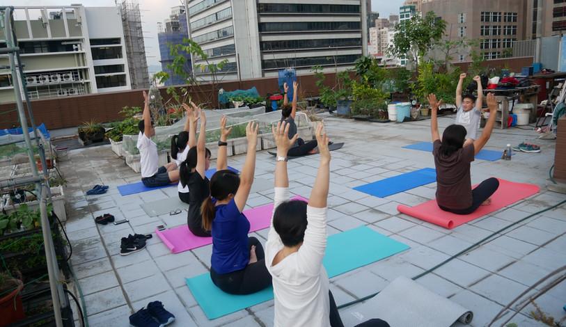 Yoga Workshop at Rooftop Farm