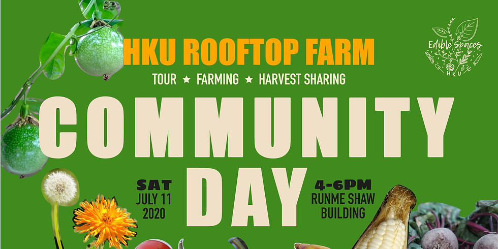 Rooftop Farm Community Day   July