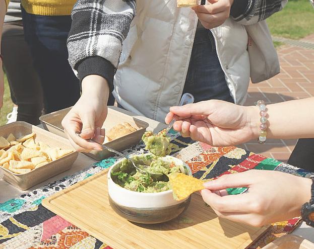 Herbal snacks tasting at Wednesday Chill