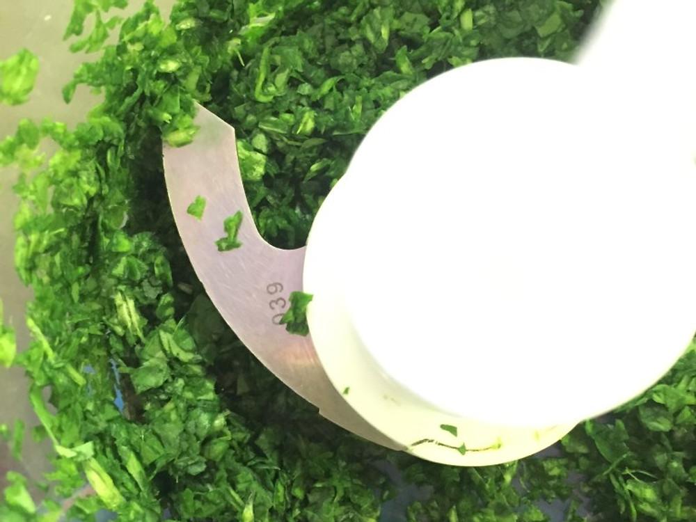 pureed spinach www.redkitchenette.com