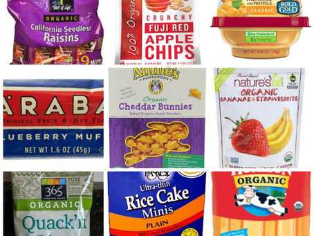 Store-Bought Snacks: Toddlers +