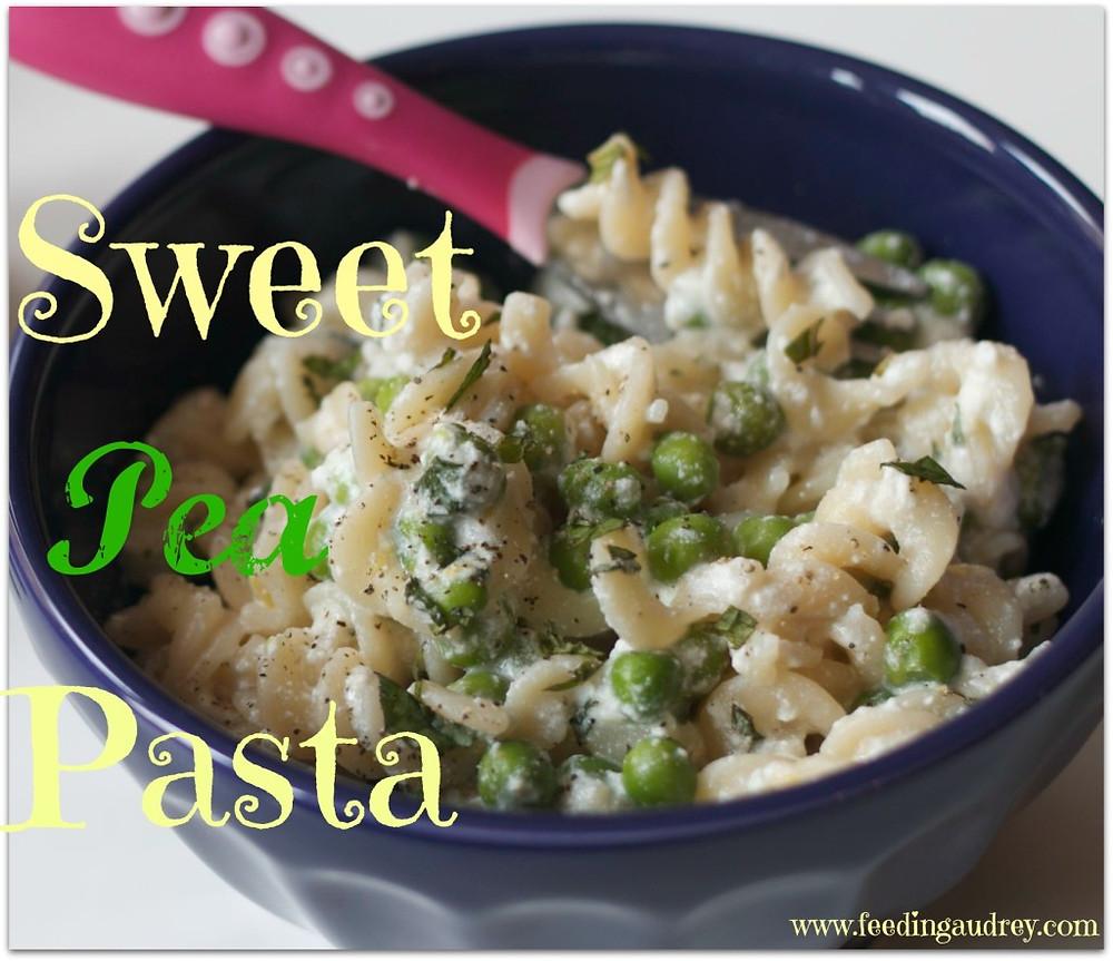 Sweet Pea Pasta - www.redkitchenette.com