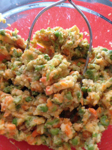Mashed Peas and Carrots