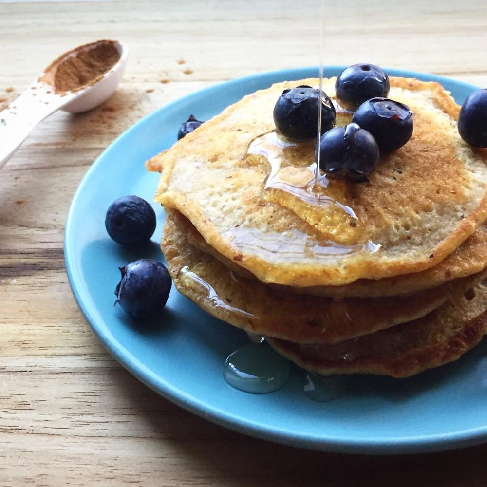butternut squash pancakes www.redkitchenette.com