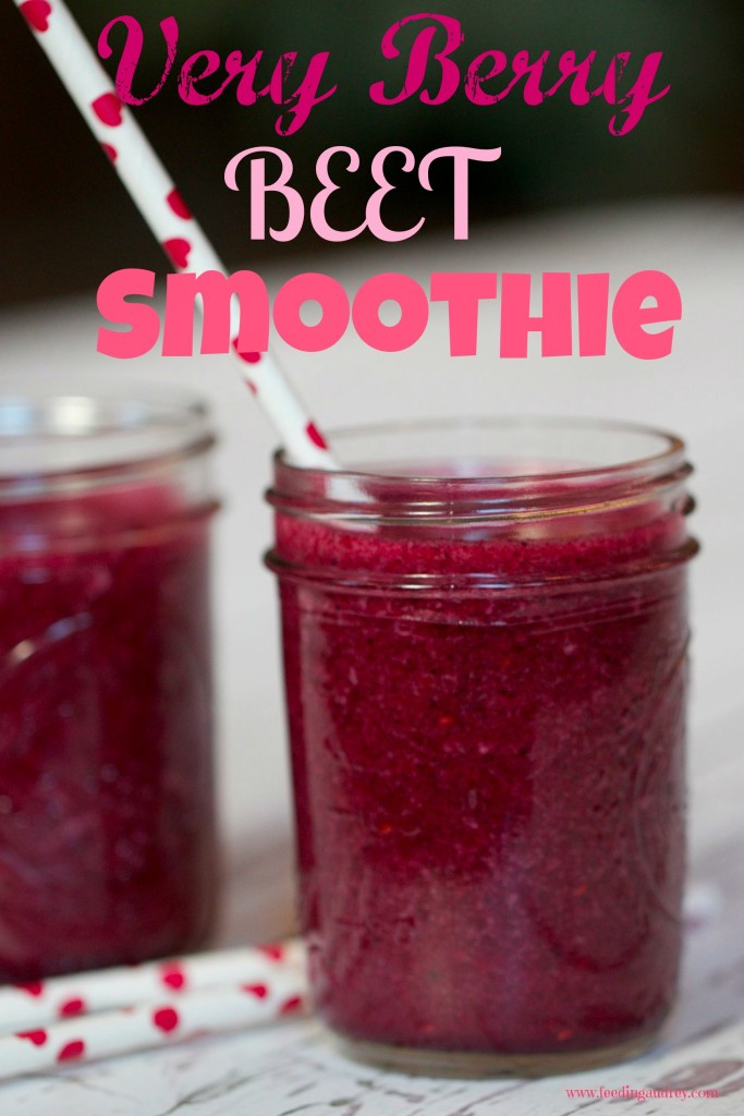 Very Berry Beet Smoothie www.redkitchenette.com