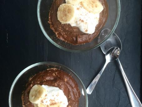 Chocolate-Avocado Pudding