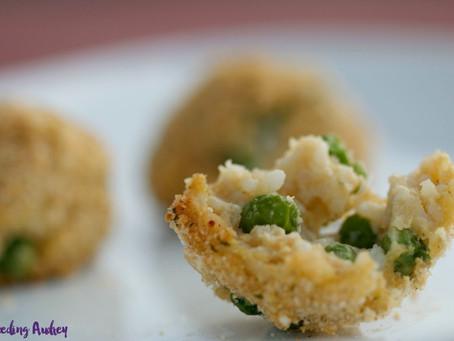 Mini Arancini with Peas