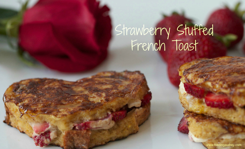 Text Strawberry French Toast