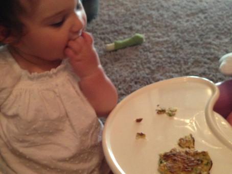 Recipe: Baked Zucchini Pancakes