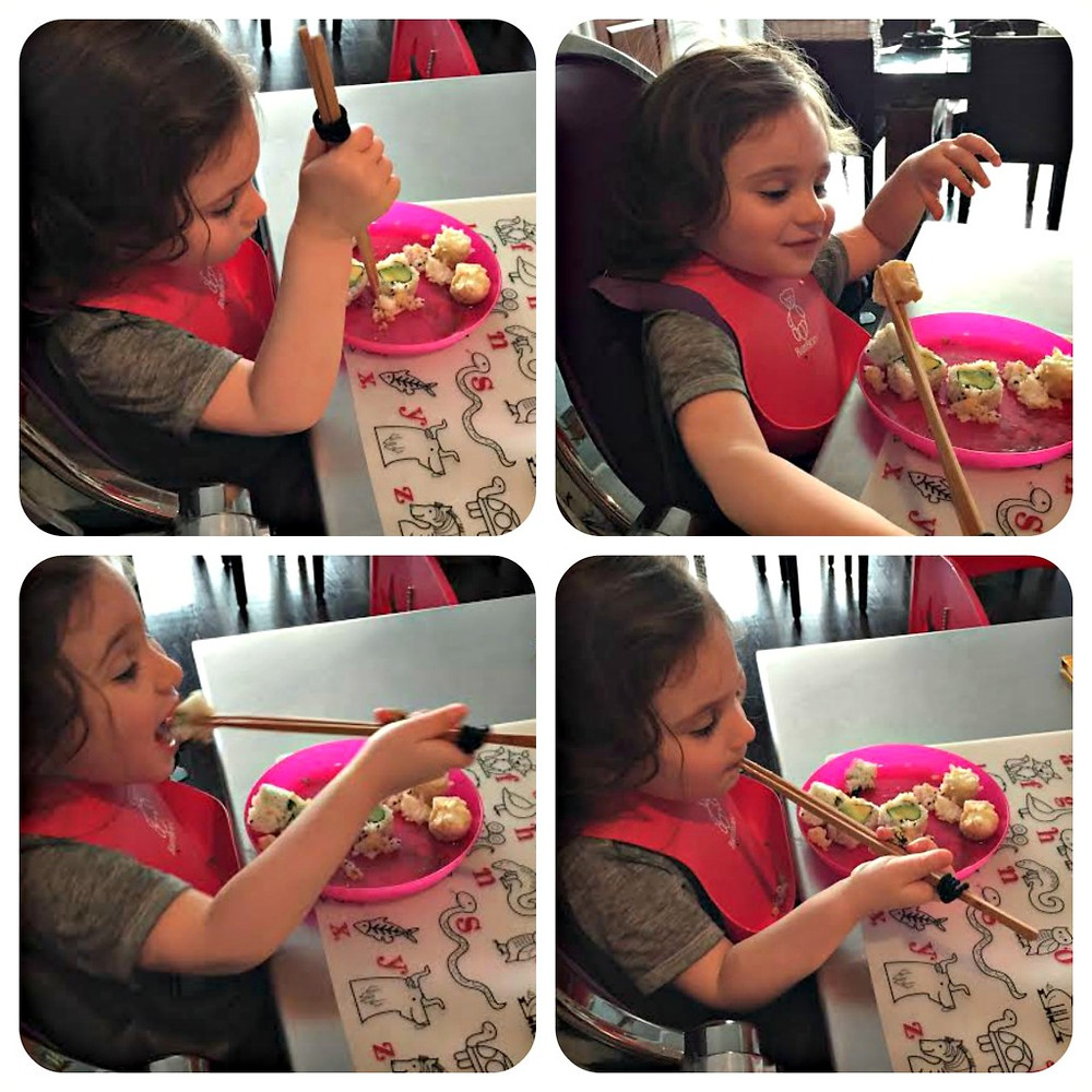 Sushi For Toddlers www.redkitchenette.com