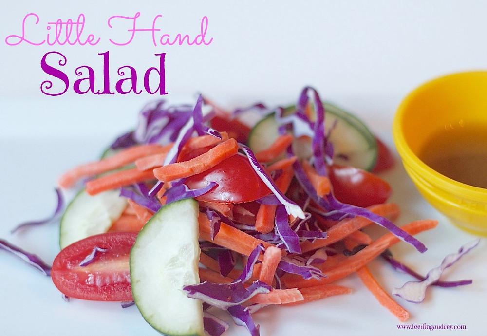 toddler salad www.redkitchenette.com