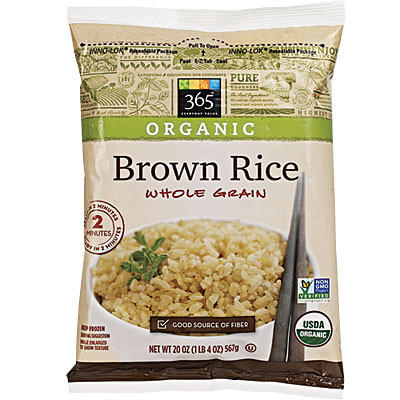 frozen brown rice whole foods