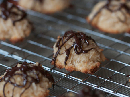 Re-Post: Soft & Chewy Coconut Macaroons (GF, Vegan)