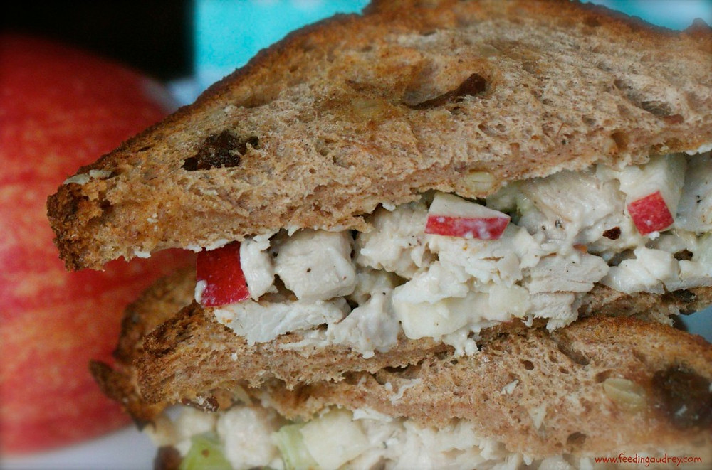 waldorf chicken sandwich www.redkitchenette.com