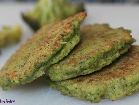 Parmesan-Broccoli Pancakes