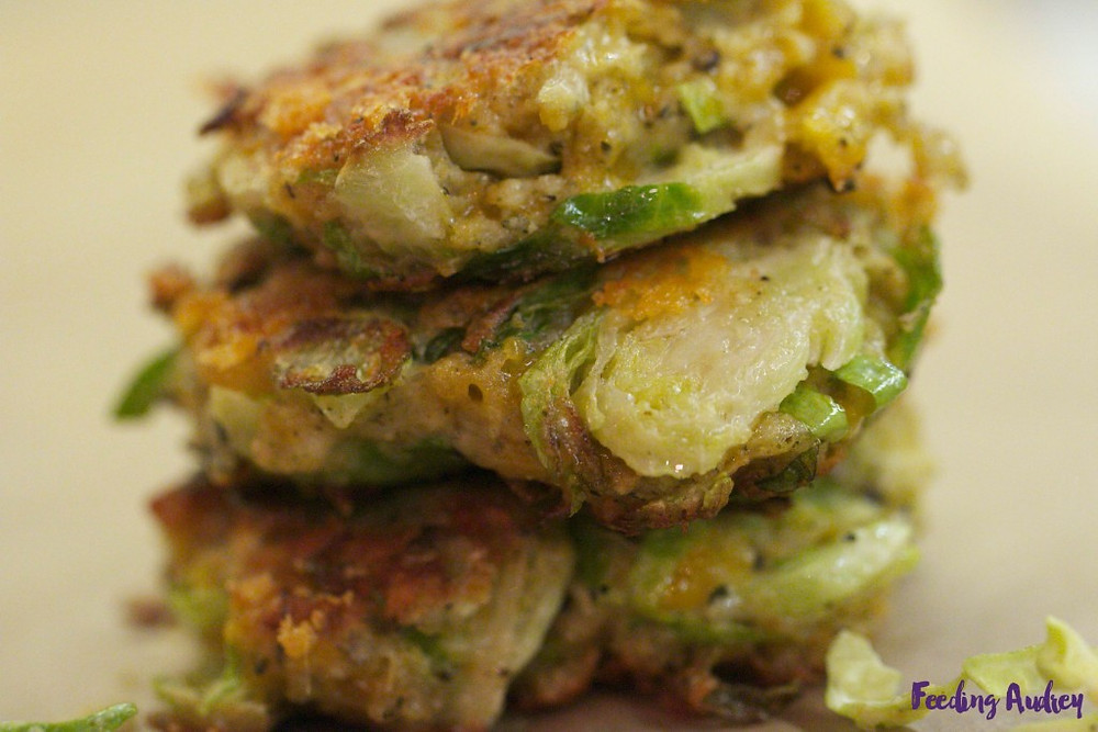 Brussels Sprouts Fritters www.redkitchenette.com