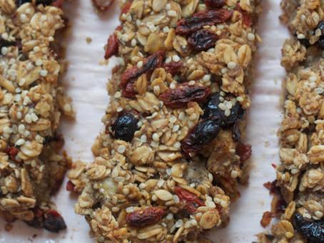 Superfood Granola Bars (V, GF)