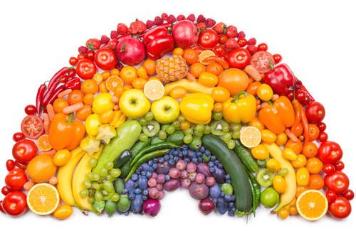 Frutta e verdura amici occhi