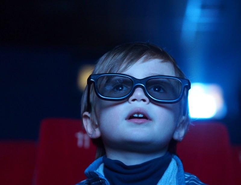 Bambino e visione 3D