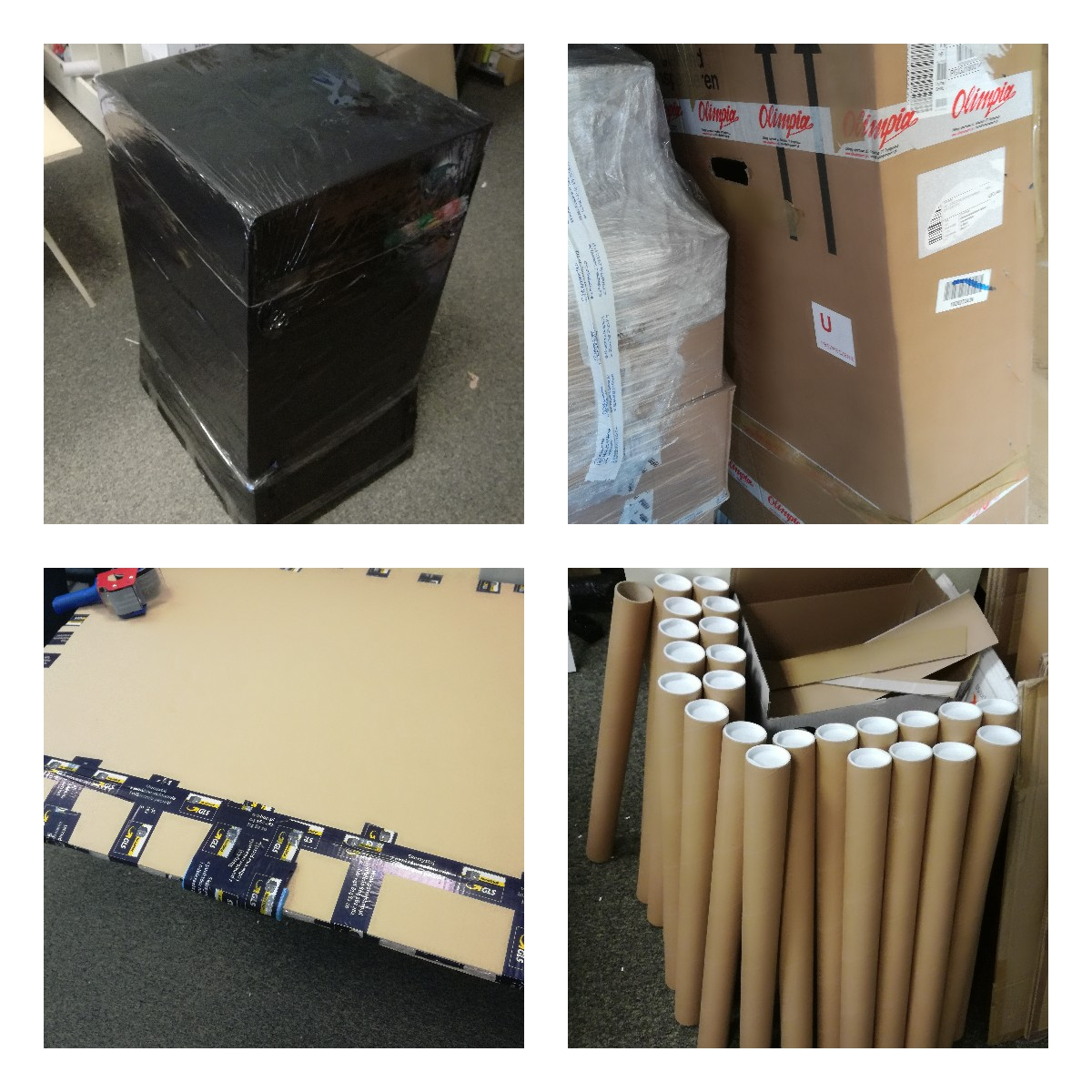 Pakowanie nietypowych przedmiotów