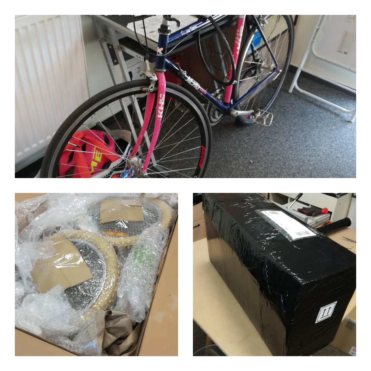 Pakowanie i wysyłka rowerów zagranic