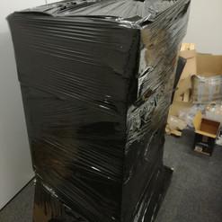 Pakowanie i wysyłka palet