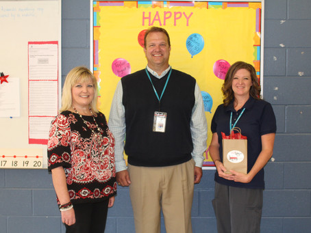 Sherlock named RHS August Teacher of the Month