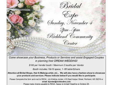'I Do' Bridal Expo coming Nov. 4