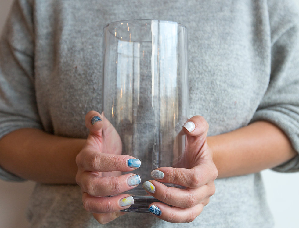 Vase Cylinder 20x10cm