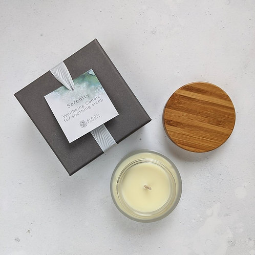 Serenity Wellbeing Candle