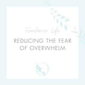 Reducing the fear of overwhelm...