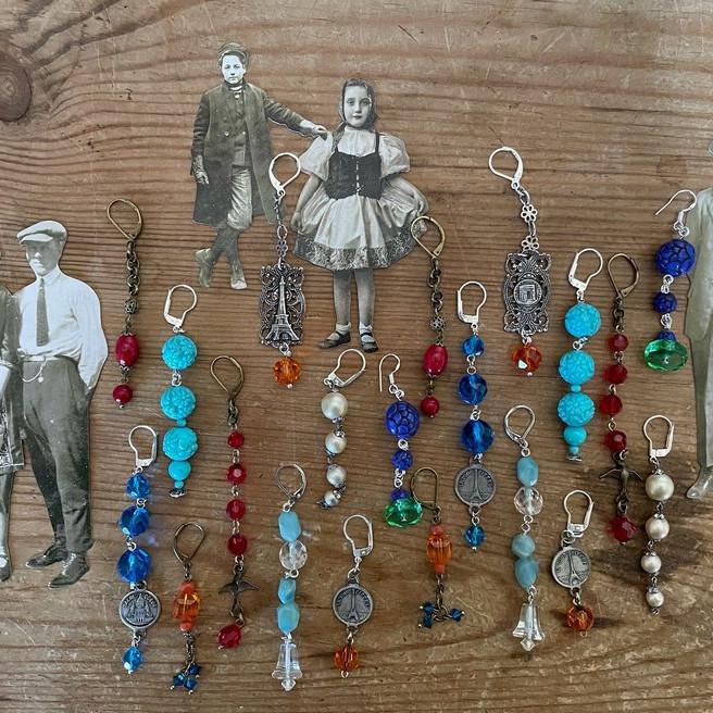 Vintage Earrings Workshop
