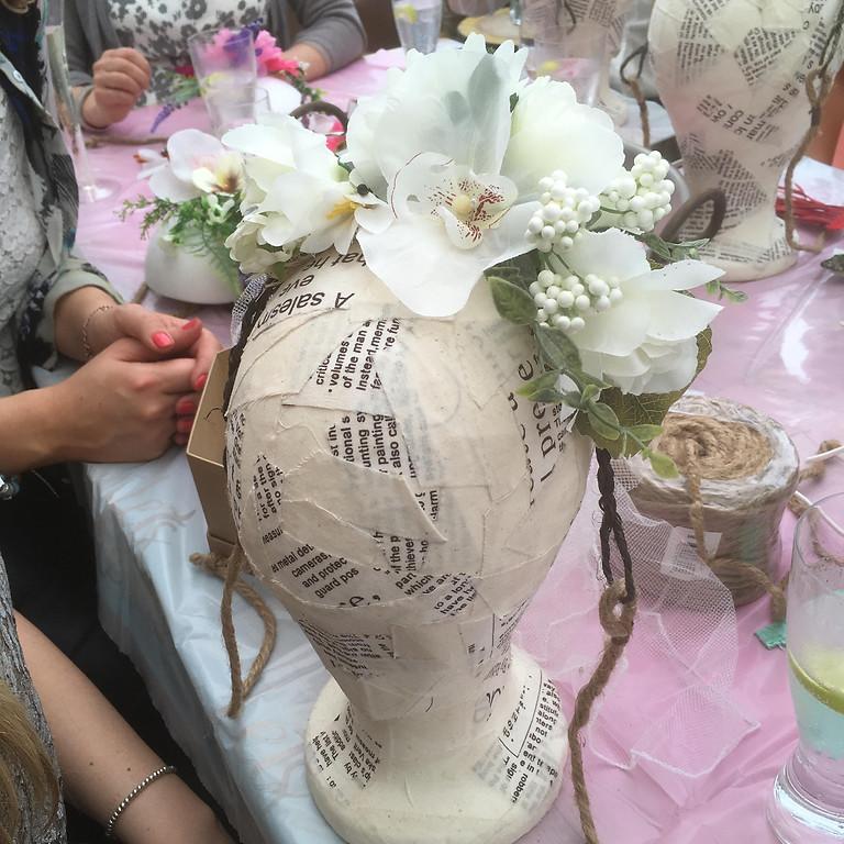 Floral Head Dress Workshop