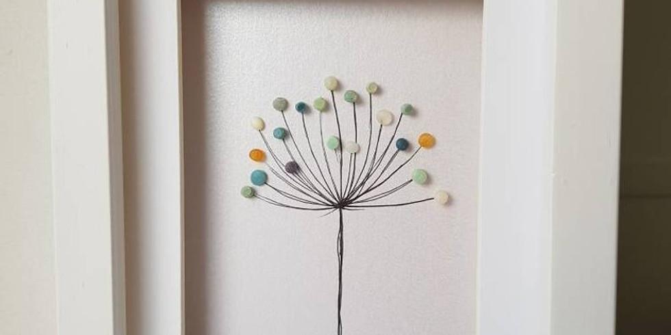 Ocean Plastic Nurdle Flowers SOLD OUT