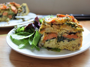 March's Mindful Recipe - Savoury Vegetable Cake