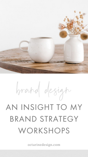 An insight to my Brand Strategy Workshops