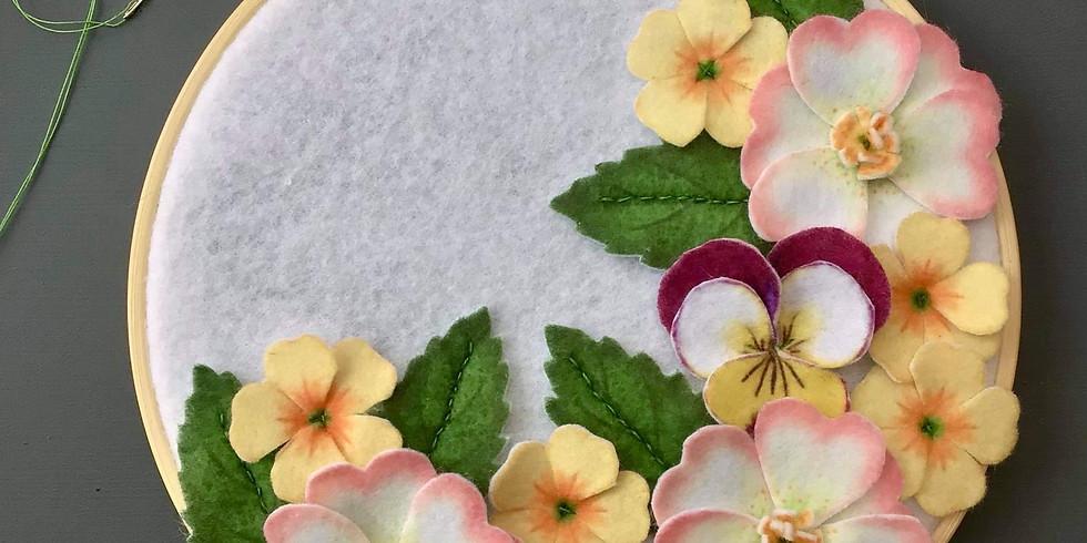 Floral Hoop Workshop