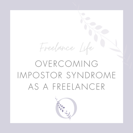 Overcoming impostor syndrome as a freelancer