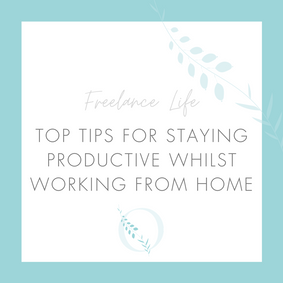 Top tips for staying productive whilst working from home