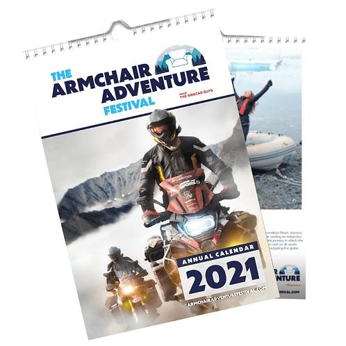 Armchair Adventure Festival Calendar 2021
