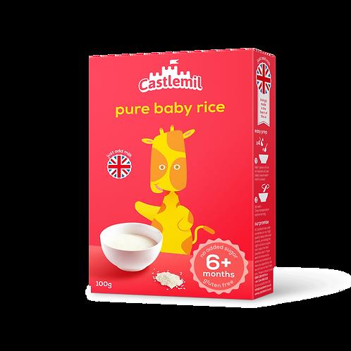 Pure baby rice. 100g