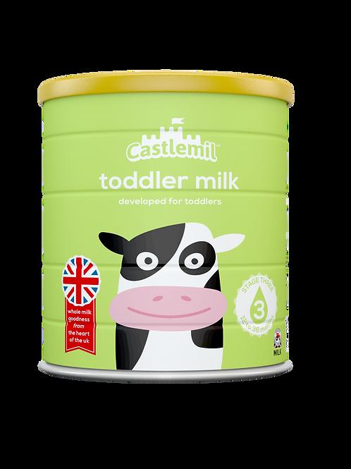Castlemil toddler milk: 12- 36 months. 800g