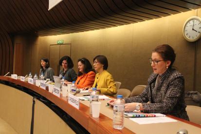 Dr Orna Rosenfeld presents at the UN Headquarters in Geneva
