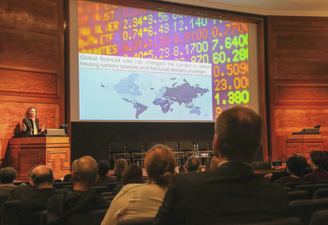 Dr Orna Rosenfeld presents at RIBA for INTBAU Global Conference