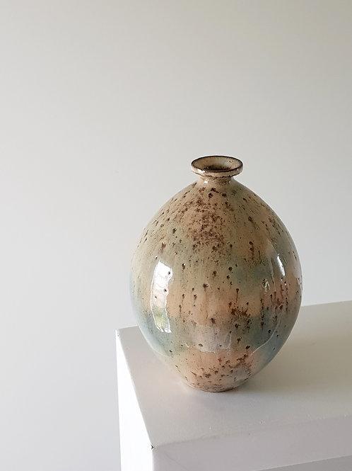 Misty Blue Bud Vase