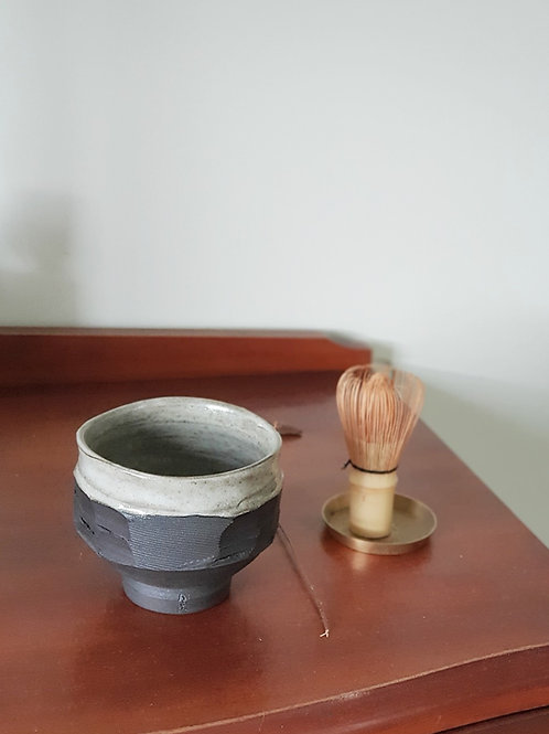 Black Wave Matcha Bowl